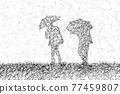 下雨 雨 多雨 77459807