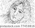 寫生 草圖 素描 77459816