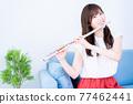 flute, flutes, female 77462441