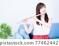 flute, flutes, female 77462442
