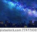 城市風光 城市景觀 市容 77477430