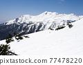 mount norikura, snowy mountain, snowâ€covered mountain 77478220
