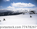mount norikura, snowy mountain, snowâ€covered mountain 77478267