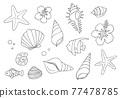 外殼 殼 貝類 77478785