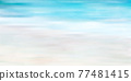 Sea sky scenery background 77481415