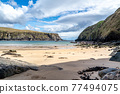 The Silver Strand in County Donegal - Ireland 77494075