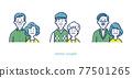 老年夫婦 夫婦 情侶 77501265