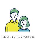 夫婦 情侶 情人 77501934
