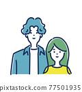 夫婦 情侶 情人 77501935