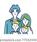 家人 家庭 家族 77502440