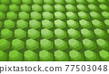 CG Hexagon Background image composed of many hexagons 77503048
