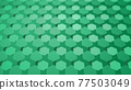CG Hexagon Background image composed of many hexagons 77503049