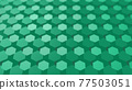 CG Hexagon Background image composed of many hexagons 77503051