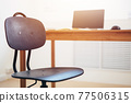 Office work table vacant position No people 77506315