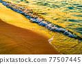 海 大海 海洋 77507445