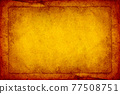 Abstract frame old brown paper grunge texture background. 77508751