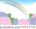 繡球花 花朵 花 77511755