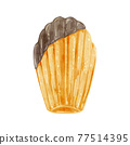 瑪德琳蛋糕 烘培食品 烘焙甜食 77514395