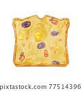 糕點 西式甜點 水果蛋糕 77514396