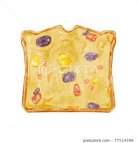 pastry, fruitcake, baked good 77514396
