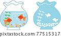 金魚 魚 金魚缸 77515317