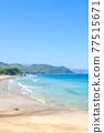 izu, blue water, marine 77515671
