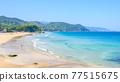 izu, blue water, marine 77515675