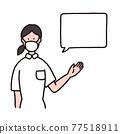 nurse, registered nurse, female 77518911