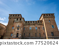 Medieval Castle of San Giorgio in Mantua downtown Italy - Palazzo Ducale 77520624