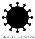 病毒 77521554