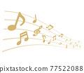 筆記 音符 音樂 77522088