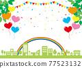城市風光 城市景觀 市容 77523132