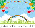 城市風光 城市景觀 市容 77523133