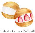 watercolour, watercolors, baked sweet 77523640