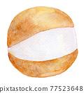 watercolour, watercolors, baked sweet 77523648