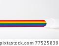 LGBT concept. Having children in same-sex families. 77525839
