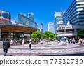 <Tokyo> Yurakucho station square, downtown 77532739
