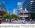 <Tokyo> Yurakucho station square, downtown 77532742
