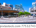 <Tokyo> Yurakucho station square, downtown 77532743