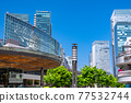 <Tokyo> Yurakucho station square, downtown 77532744