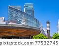 <Tokyo> Yurakucho station square, downtown 77532745