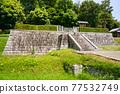 barrow, ancient tomb, historic site 77532749