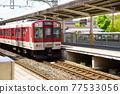 kintetsu, electric train, train 77533056