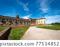 New Court of the Ducal Palace in Mantua downtown Italy - Palazzo Ducale 77534852