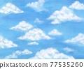 天空 雲彩 雲 77535260