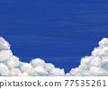 天空 雲彩 雲 77535261