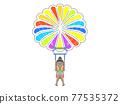 滑翔傘 降落傘 泳衣 77535372