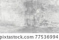 Grungy white background of natural cement or stone old texture as a retro pattern wall. Conceptual wall banner, grunge, material,or construction. 77536994