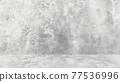 Grungy white background of natural cement or stone old texture as a retro pattern wall. Conceptual wall banner, grunge, material,or construction. 77536996