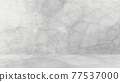 Grungy white background of natural cement or stone old texture as a retro pattern wall. Conceptual wall banner, grunge, material,or construction. 77537000